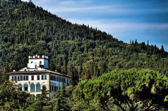 Blick auf Hotel Il Salviatino