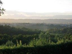 Ausblick Agriturismo Montalto