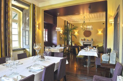 Restaurant und Frühstücksraum Quinta da Palmeira
