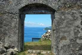 Aussichtspunkt Küste Kroatien Wanderung