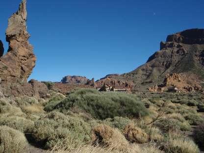 Landschaft Wanderung am Teide Teneriffa