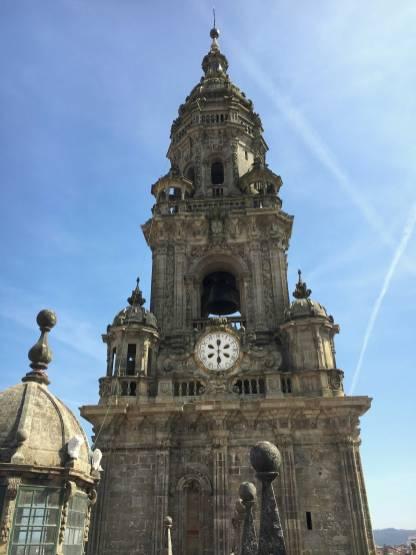 Santiago de Compostela Glockenturm