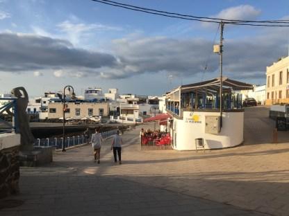 Außenansicht Restaurant in El Cotillo auf Fuerteventura