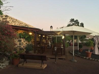 Terrasse Abendstimmung Hotel Mahoh Fuerteventura