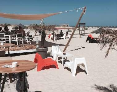 Strandbar Camaleo auf Ilha da Armona Algarve