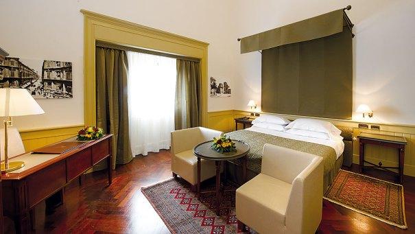 Grand Hotel Piazza Borsa Zimmer