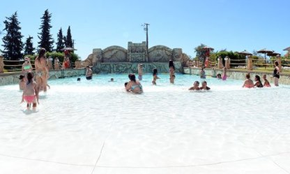 Badespaß Aqualand Wasserpark Algarve
