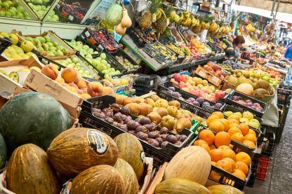 Marktstand in Portugal