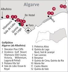 Golfplätze Quinta do Lago, Algarve