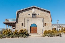 Fassade vom Parador de Gredos