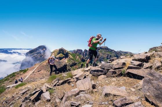 Wanderer Pico do Arieiro