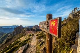 Wanderweg Pico d Arieiro