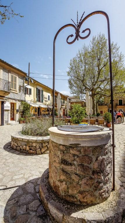 Brunnen in Valldemossa