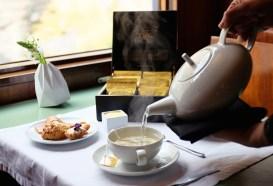 Teezeit im Presidential Train