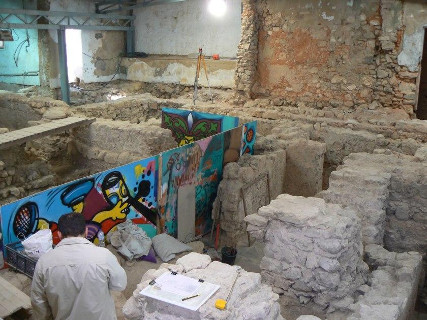 Ausgrabungsstätte Hammam in Loulé