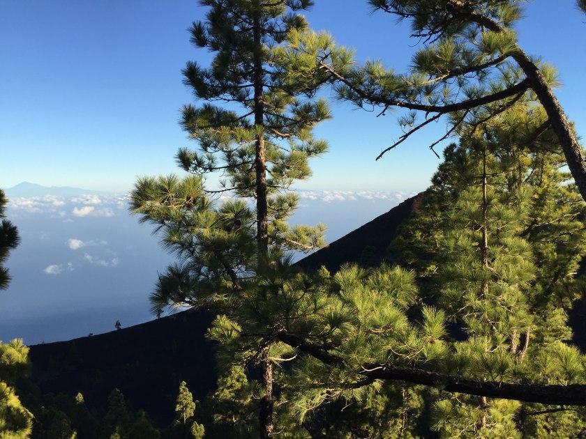 Ausblick La Palma auf Nachbarinseln