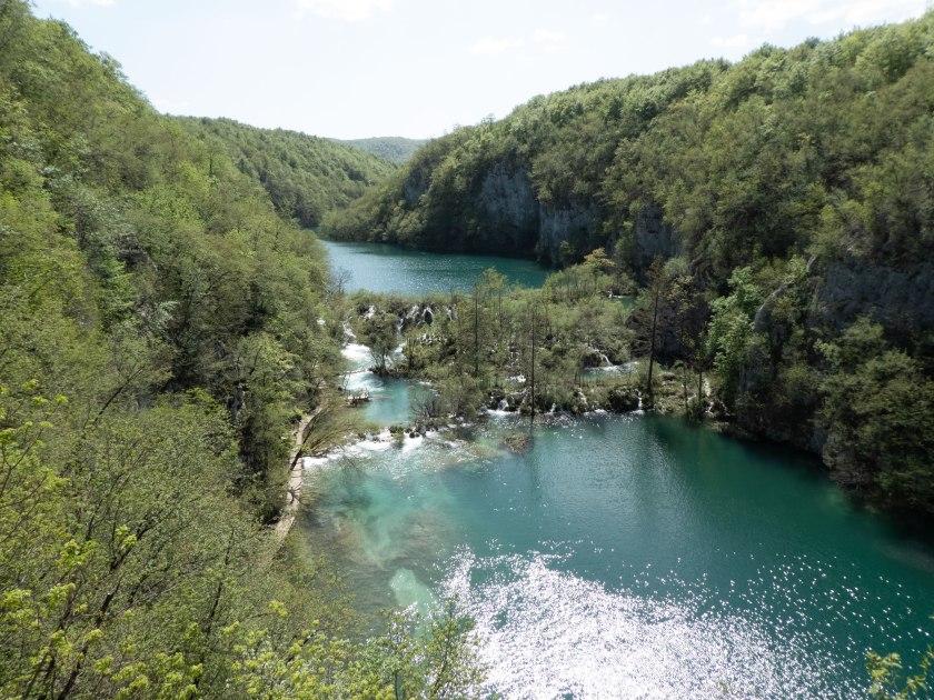 Wanderung in Plitvicer Seen