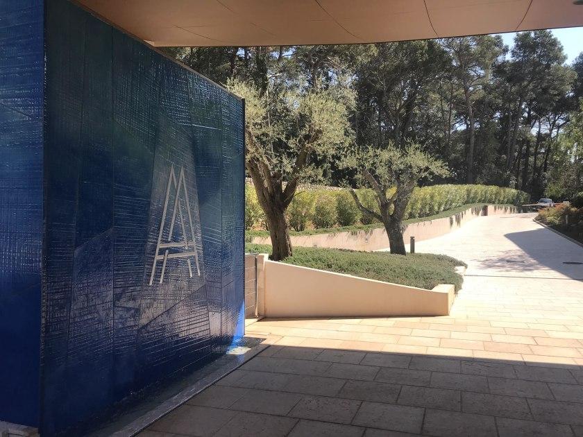 Einfahrt Boutique Hotel Alhambra