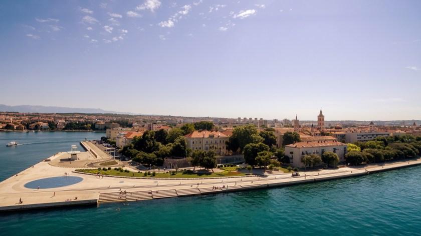 Meeresorgel in Zadar