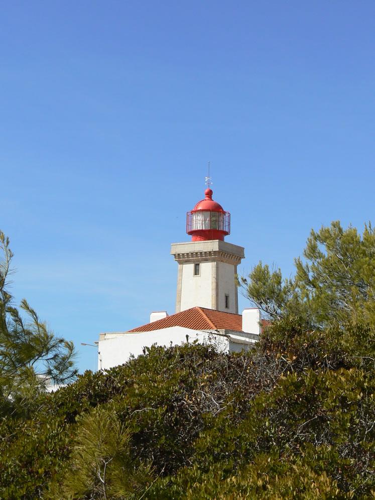 Die Laterne am Leuchtturm Farol de Carvoeiro