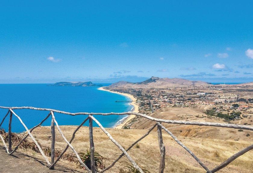 Porto Santo Aussichtspunkt Portela