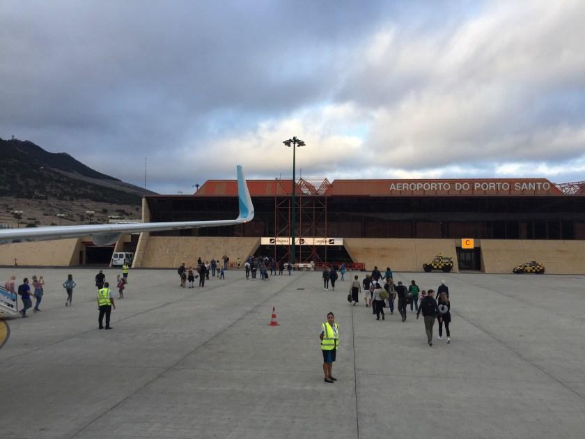 Flughafen Porto Santo