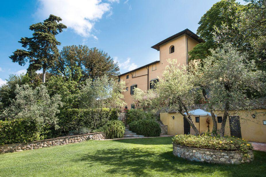 Villa il Poggiale Italien Garten
