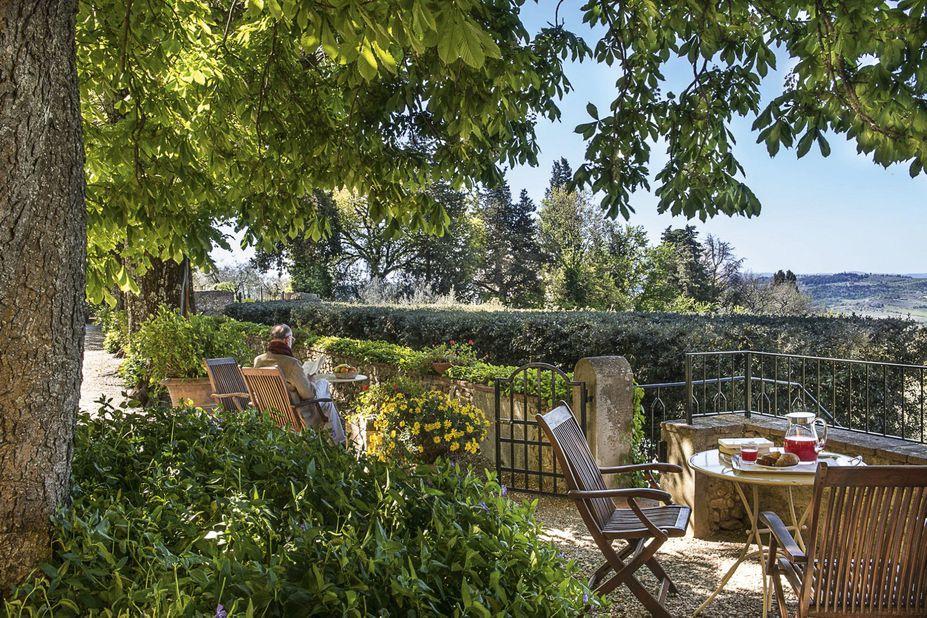 Villa il Poggiale Italien Terrasse
