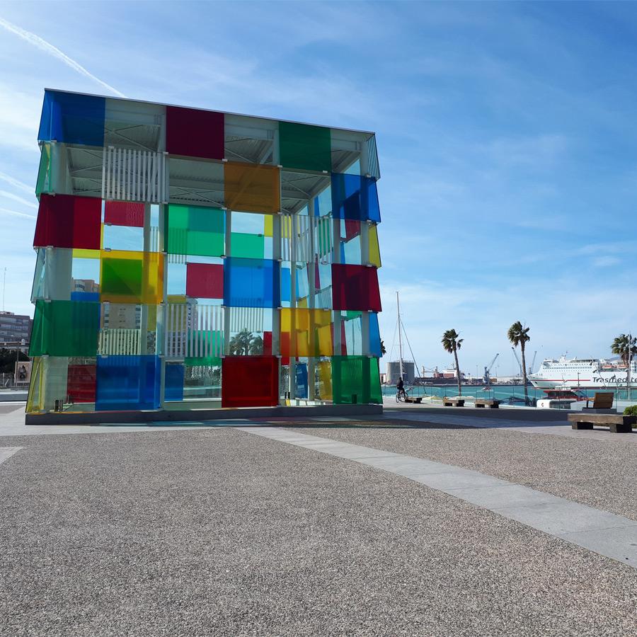 Andalusien Málaga Centre Pompidou