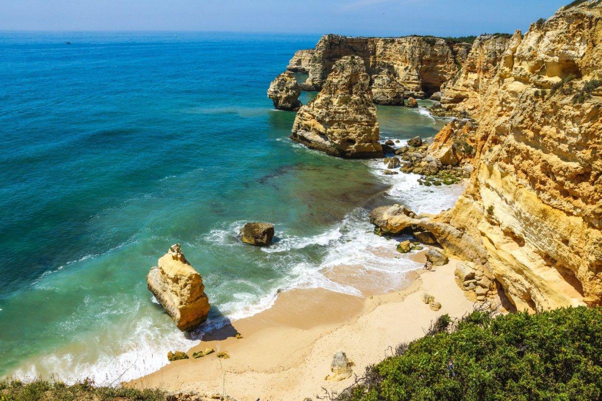 Algarve Praia da Marinha Strand