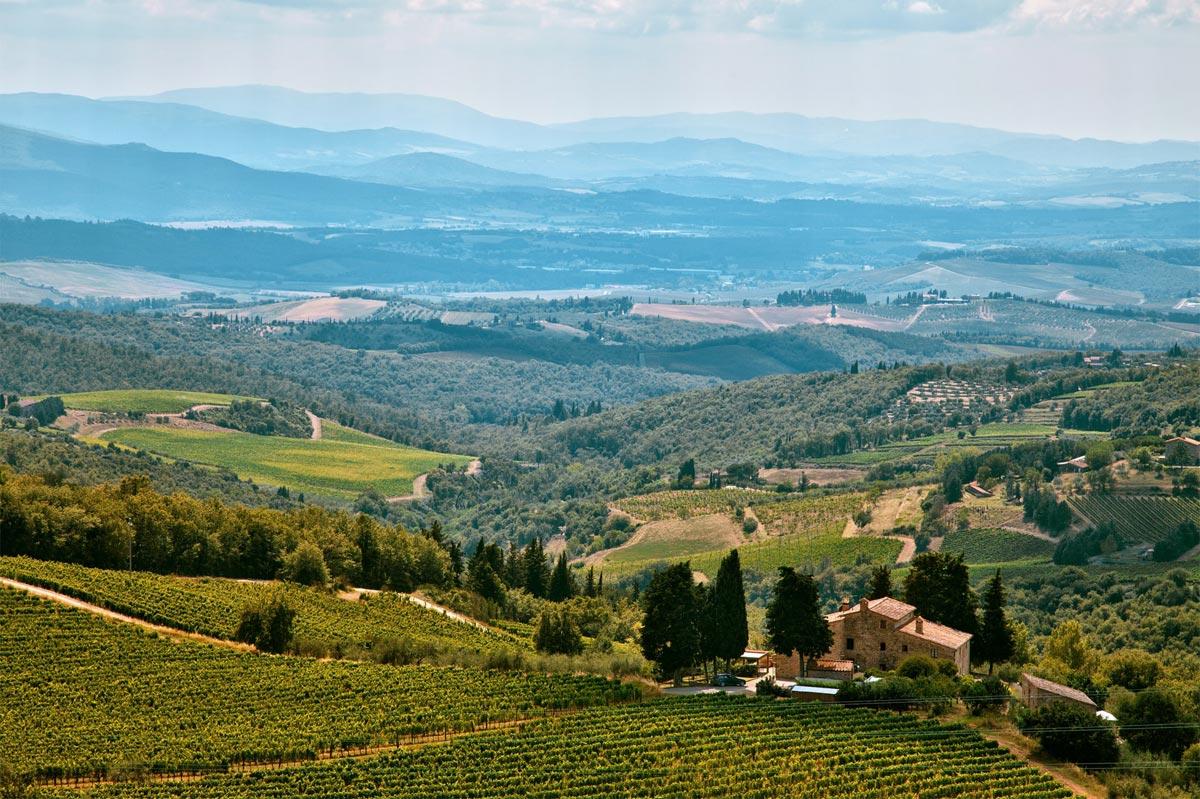 Italien Radtour Chianti