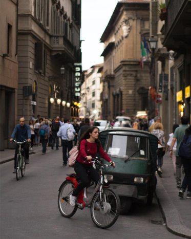 Italien Mit dem Rad durch die Stadt