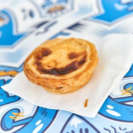 Die Lieblingssüßspeise der Portugiesen Pastel de nata