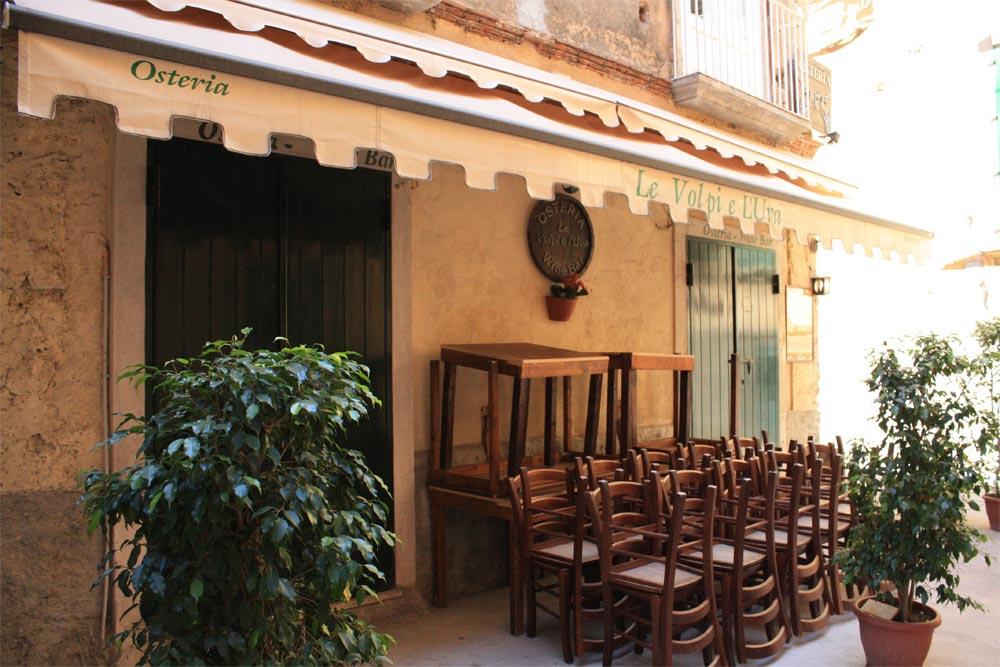 Italien Tropea Altstadt Osteria