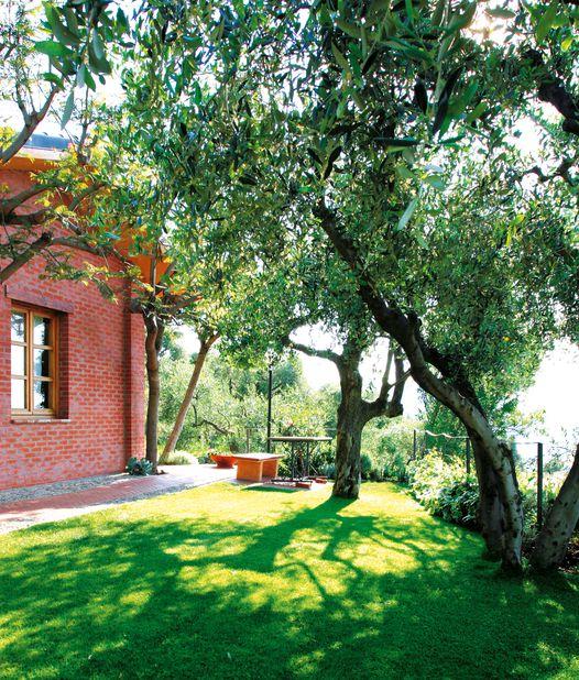 Italien Ligurien Relais San Damian Garten