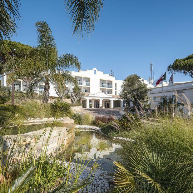 Dona Filipa Hotel Garten