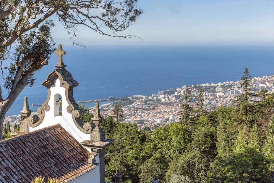 Quinta do Monte Panoramic Gardens Ausblick