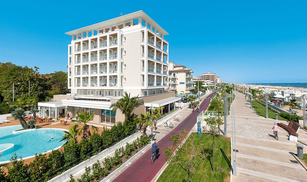 Hotel Ambasciatori Außenansicht
