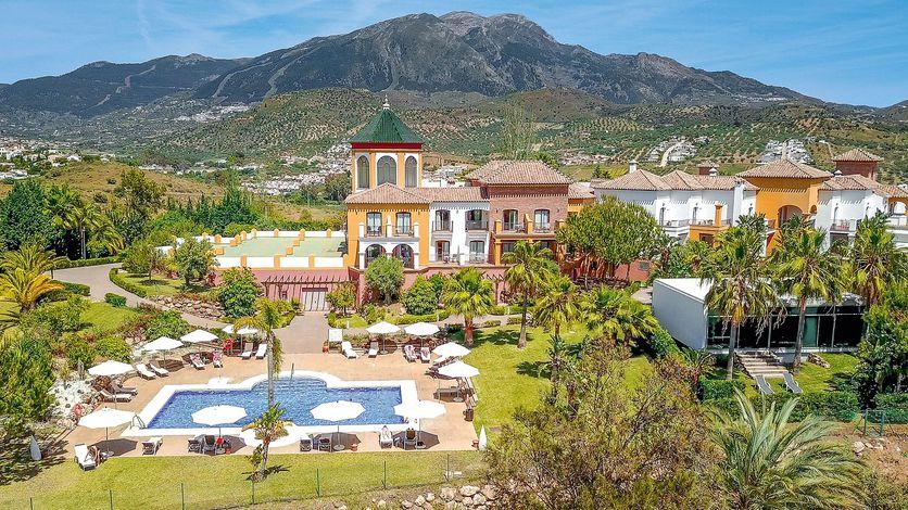 Hotel la Vinuela Andalusien Hotelanlage