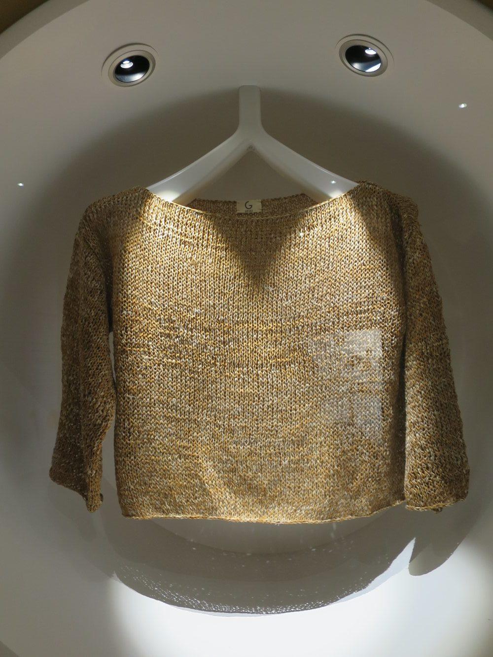 Pullover aus Korkgarn