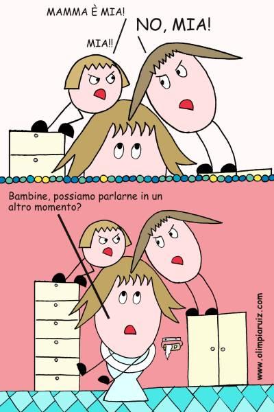 Mamma è mia! - Vignette Olimpia Ruiz