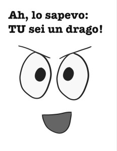 Occhio al drago, un libro interattivo per bambini