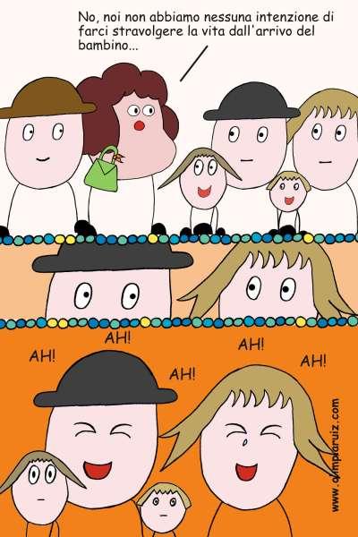 Vignette sulla vita in famiglia - Non abbiamo intenzione di farci stravolgere la vita