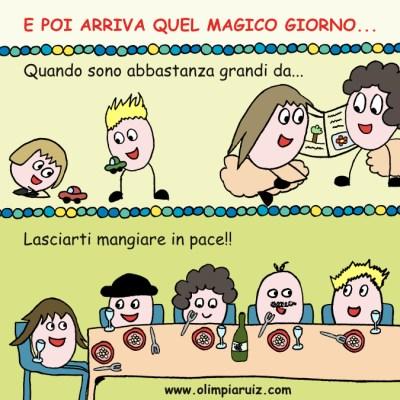 Vignette sulla vita in famiglia - E poi arriva quel magico giorno...