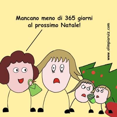 Vignette Olimpia Ruiz di Altamirano - Mancano meno di 365 giorni al Natale