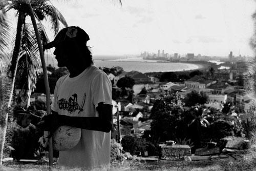 Capoeirista no Alto da Sé - Foto: Ciro Barbosa Acioli/ Acervo Pessoal