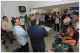 Assinatura de Ordem de Serviço para reforma e ampliação da Unidade de Saúde da Família de Ouro Preto. Foto: Luiz Fabiano/Pref.Olinda