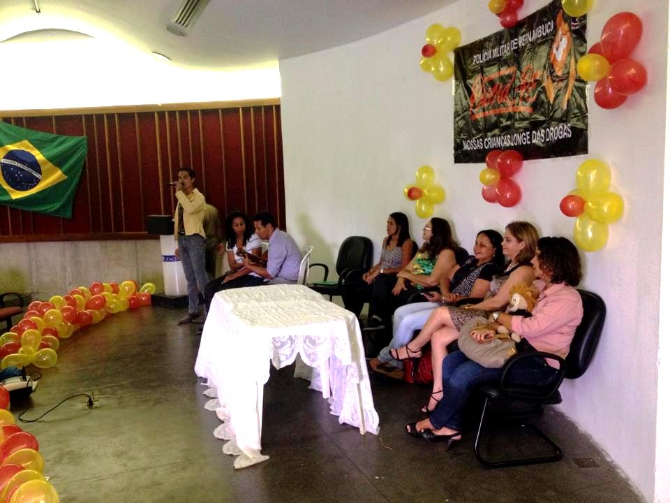 Formatura de 200 alunos da Escola Allan Kardec (Salgadinho). Foto: Rodrigo Barradas/Pref.Olinda