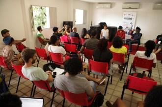 MIMO Olinda 2014. Na foto destaque para workshop com Winston McAnuff e Fixi, no CEMO, Olinda. Foto: Beto Figueiroa/Trago Boa Notícia
