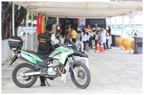 Semana Nacional de Trânsito em Olinda. Foto: Luiz Fabiano/Pref.Olinda